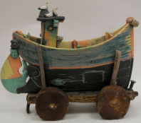 Fishing Boat With Trolley